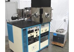 Cooke Sputtering Vacuum Chamber Cti On-Board 10 Cryopump 8200 Compressor