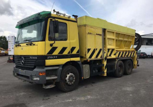Suction Trucks MERCEDES 2631 ACTROS RSP used
