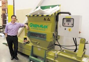 Styrofoam compactor GreenMax Apolo C100