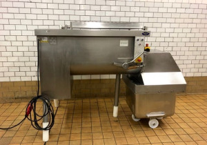 Frontal discharge paddle mixer Risco RS 450
