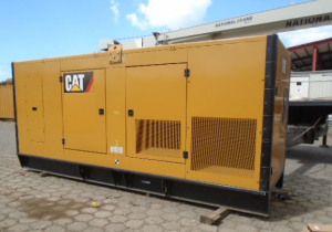 500 KW Caterpillar C15 Generator Set