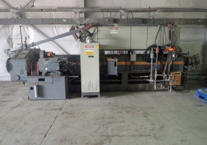 Gloucester tandem foam extrusion line model 120/150, 120mm x 150mm