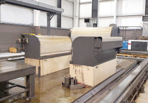 Cincinnati Mag U5-1500, 5 Axis CNC Traveling Bridge Mill