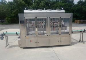 16 Piston Inline Filling Machine, 40 Oz.