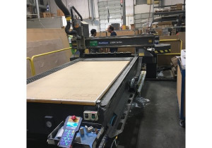 Used Multicam 5000 Series Model 5-204-R CNC ROUTER, 5′ x 10′ Table, New in 2007