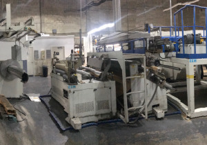 Chi Chang Machinery Laminating Line Model CC-LAM-90 New 2005