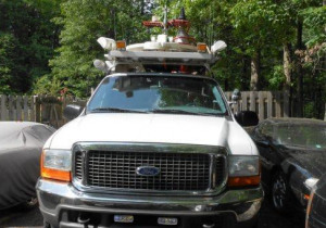 Vsat Communication Vehicle Ford Excursion