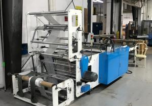 Lung Meng Side Seal Bag Machine #LB-ASTP 1000c – 2013
