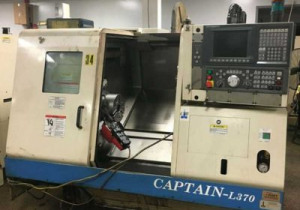 Used CNC Turning Center | OKUMA Captain L370 780-BB