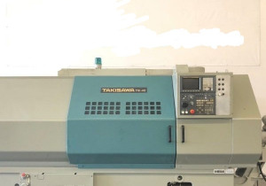 Takisawa TW-46 CNC Long Bed Turning Center