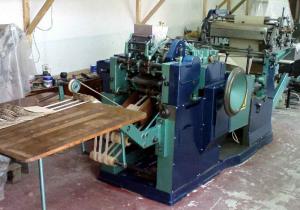 Cross Bottom Paper Bag making machine
