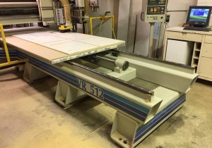 Used Komo Vr512 Flatbed Cnc Router, 5′ X 12′ Table, New In 1996