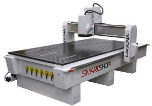 Used 2013 Laguna MCNC SS 1 48×96- 0163 Tools SmartShop I CNC Router, 4′ x 8′ Table