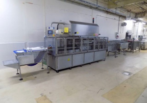 Fully automatic tray sealer Mondini CVS/VG 1-5