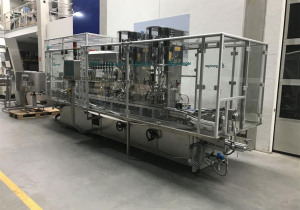 Groninger  MFCS 202 QL Liquid filling and closing plant for vials/bottles