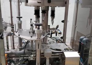 Robocap 40/6 D RLP capper with Rationator