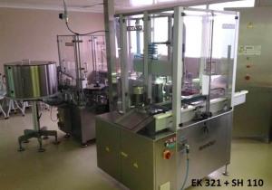Inova/Optima SV 122 / SH 110/1 / EK 321 Pre-filled syringes filling-, closing- and labelling line
