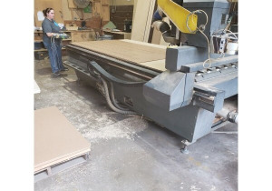 Multicam 3000 Series Cnc Router, 5'X10′ Table, 5.5Hp Spindle With Auto Tool Changer, New In 2005