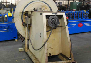 5 Ton Decoiler For Sale - DURANT, Keepers, Varispeed Motor, Air Brake