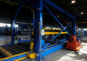 AWM Welded Wire Mesh Plant: AWM (Italy) Semi-Automatic Welded Wire Mesh Line; Model Easynet S