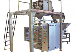 VERTICAL 4 SCALE WEIGHING and  PACKING MACHINE with CONVEYOR BELT