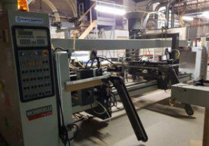 Morbidelli FM 400 JA  Dowel hole boring machine, automatic