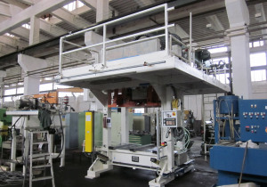 HUBER 30 T Laminating Press