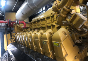 Caterpillar  3520 USED GAS GENERATOR