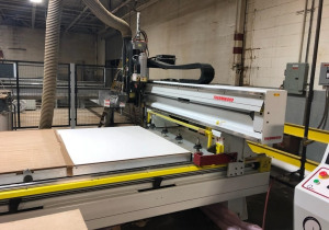 Used Thermwood M45-512 3 Axis Router, 5′ x 12′ Table