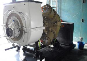 Siemens TB5000 Gas Turbine Core Engine