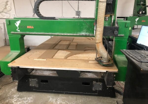 Used Streamline Automation Frogmill Cnc Router, 6'X10' Table