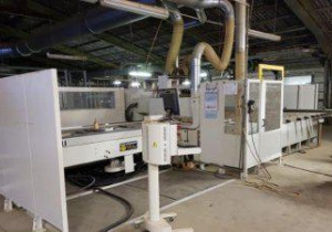 Morbidelli-Unix Bt 1.1-Throughfeed Machining Center Cnc