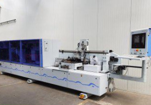 Homag-Kal 210/6/A20/S2-Squaring And Edgebanding Machine Single Sided