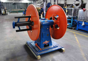 "Littell Double End Reel For Sale - 2,500 Lb. Capacity x 18"" Width"