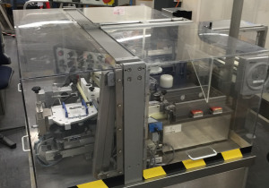 Bosch ERS 2010 high speed labeling machine for ampoules, vials, etc.