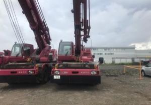 Crane 25 tons Kato KR25h-V5 2006