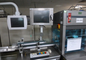 Complete blister packing line for tablets, capsules etc, with IMA C60
