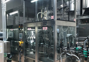 Used filling monoblock MBF SYNCHROFILL 24/32/4/4 isobaric