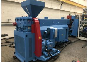 1500mm Wide Omipa Union Single Screw Sheet Extrusion Line