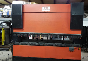 187 Ton X 10' Amada Hfe 170-3S Hydraulic Cnc Press Brake