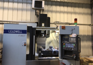 Leadwell V-40 5-axis milling center