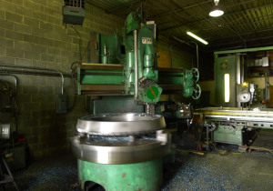 Webster & Bennett Vertical Boring Mill