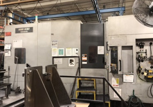 Mori Seiki Sh8000 Cnc Horizontal Machining Center