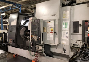 Mori Seiki Zt2500Y 4-Axis Twin Spindle Twin Turret Cnc Lathe W/ Live Milling