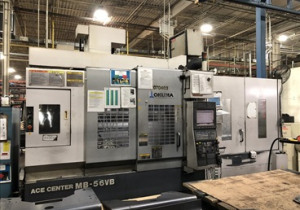 Okuma Mb-56Vb Cnc Vertical Machining Center W/ Apc