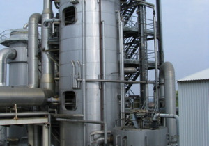 Used Vkt Multi Chamber Evaporator With The Capacity 70 Ton Per Hour Of Massecuite