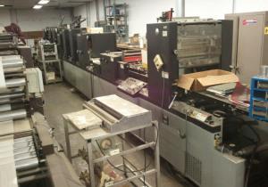 1986 Didde DG 860 4-COLOR Web Press