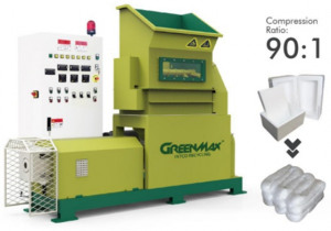 GREENMAX M-C200 Styrofoam densifier for sale