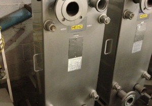 Used GEA Stainless Steel Plate & Frame Heat Exchanger