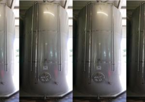 Storage tanks, flat bottom tanks  30.000 liter
